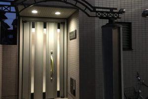 オートロックの玄関
